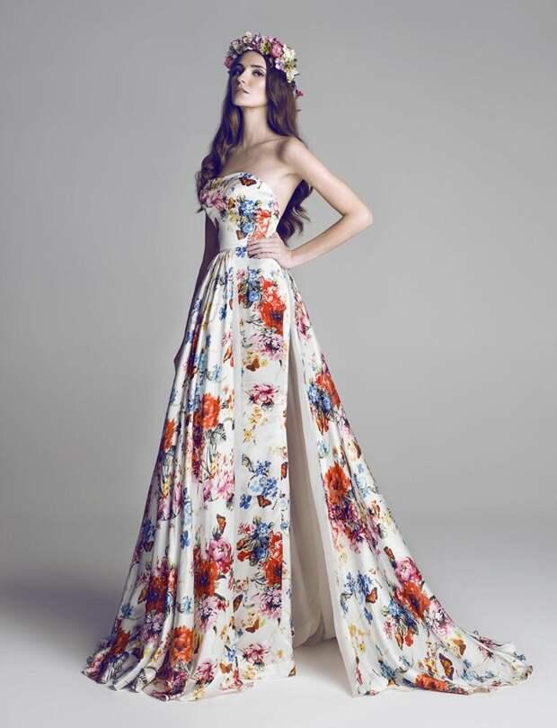 Модные платья на свадьбу 2021