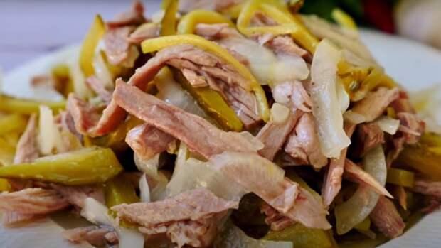 Салат «Шахтерский»: минимум продуктов, но очень вкусно
