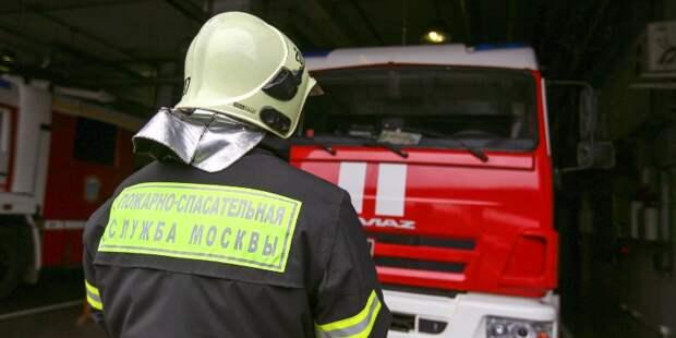 Пожар в мусоросборочной камере произошёл в жилом доме на Дубнинской