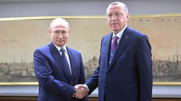 """Эрдоган может отказаться от посещения """"Крымской платформы"""" ради Путина"""