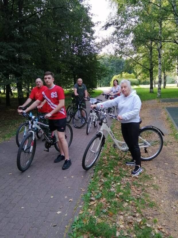 Велопробег ко Дню солидарности в борьбе с терроризмом прошел в Бабушкинском