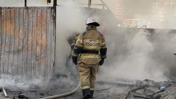 Пострадавших в результате пожара в крымском многоквартирном доме нет