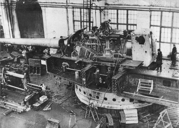 Самые мощные морские орудия Второй мировой войны