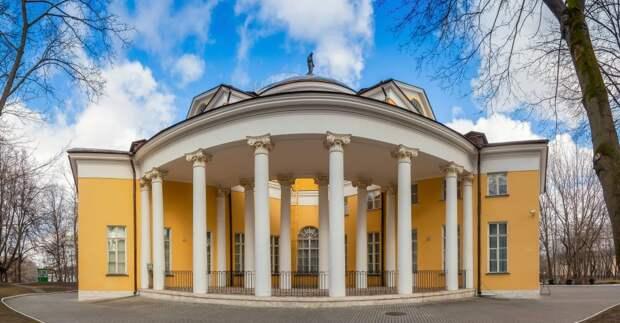Усадьбы в ЮВАО поборются за звание лучших архитектурных памятников