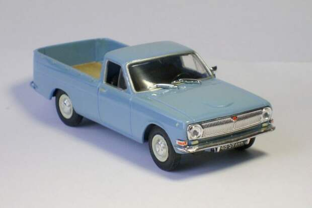 ГАЗ-24 пикап авто, автодизайн, газ, запорожец, моделизм, модель, москвич, советские автомобили