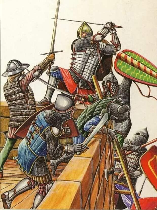 Как новгородцы отразили крестовый поход на Русь