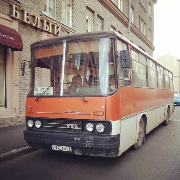 Ностальгические автобусы из нашего детства автобусы, воспоминания, детство, ностальгия