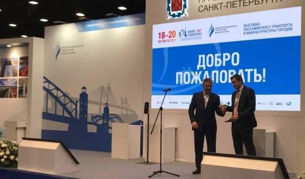 Вице-губернатор Петербурга Соколов заявил о быстром развитии инноваций на транспорте