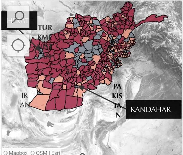 Зачем Талибан захватывает границы Афганистана