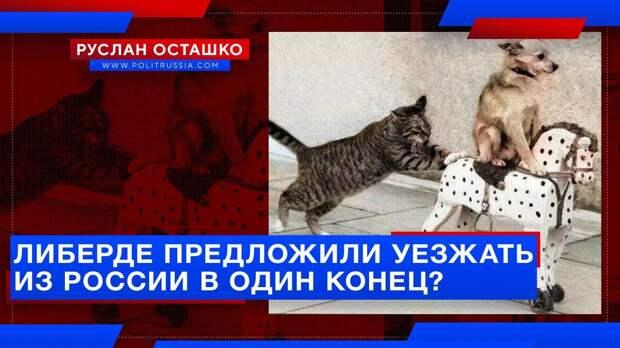 Либерде предложили уезжать из России в один конец?
