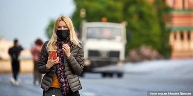 Почти 70 нарушителей масочного режима выявлено в торговых центрах САО Фото: М. Денисов mos.ru
