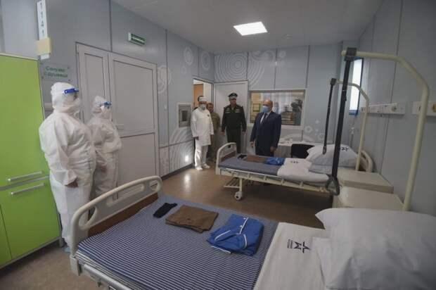 Построенный Минобороны госпиталь в Севастополе готов к приему пациентов