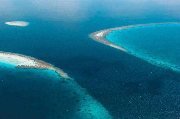Мальдивские острова постепенно уходящие под воду