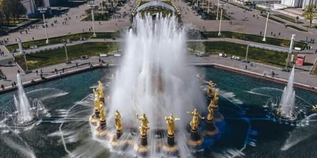 Власти Москвы заявили о готовности фонтанов к открытию сезона