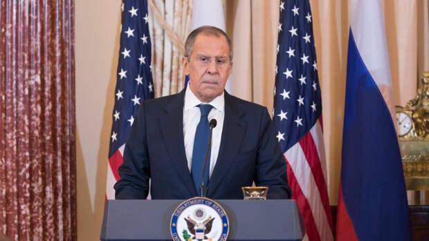 Лавров сообщил о высылке десяти американских дипломатов