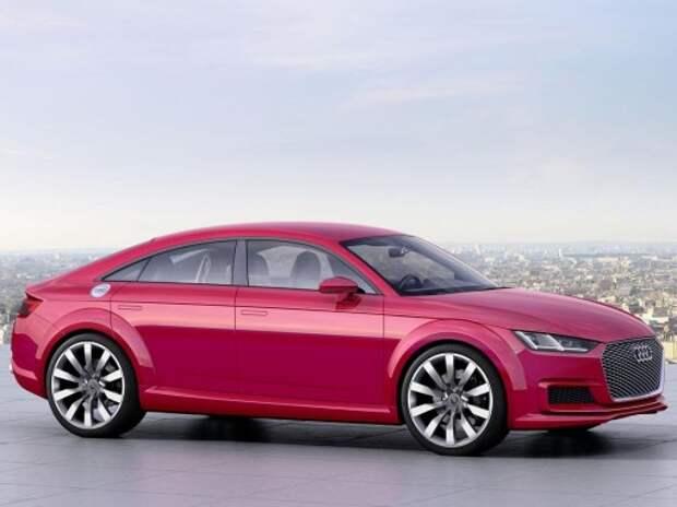 Новые Audi TT в Париже: родстер и 5-дверный Sportback