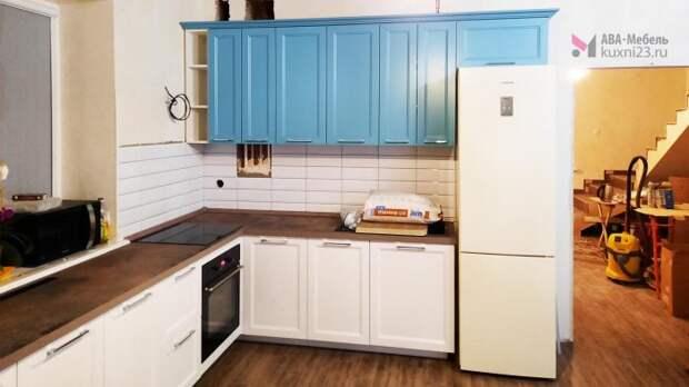 Как оформить колор-блок в интерьере кухни