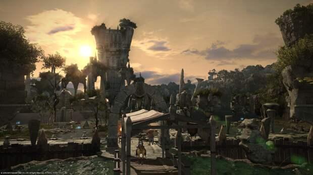 Final Fantasy XIV Online - умиротворяющая JRPG с социальной частью