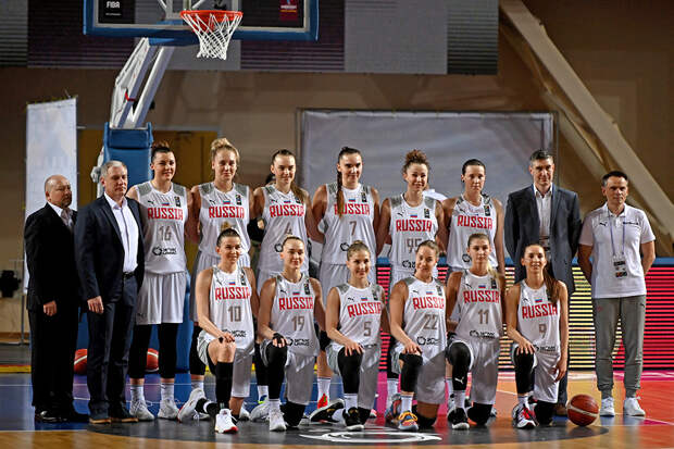 Женская сборная РФ по баскетболу готовится к чемпионату Европы