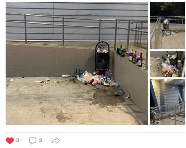 Территорию у второго Ростокинского моста очистят от мусора и стеклотары