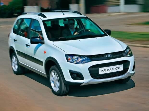 Появились предварительные цены на Lada Kalina Cross