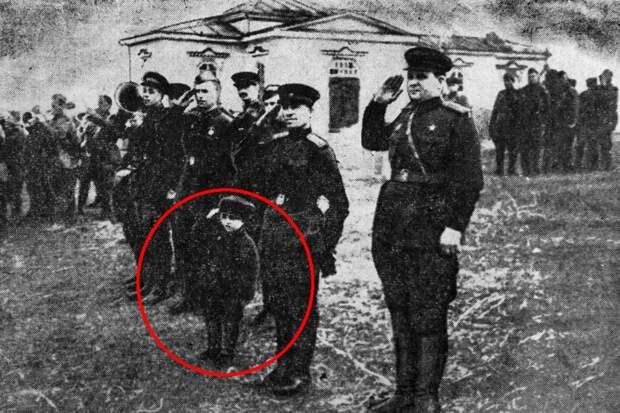 Шестилетний солдат Великой Отечественной