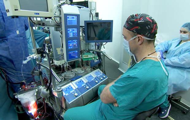 Московские врачи провели гибридную операцию попавшей в ДТП женщине