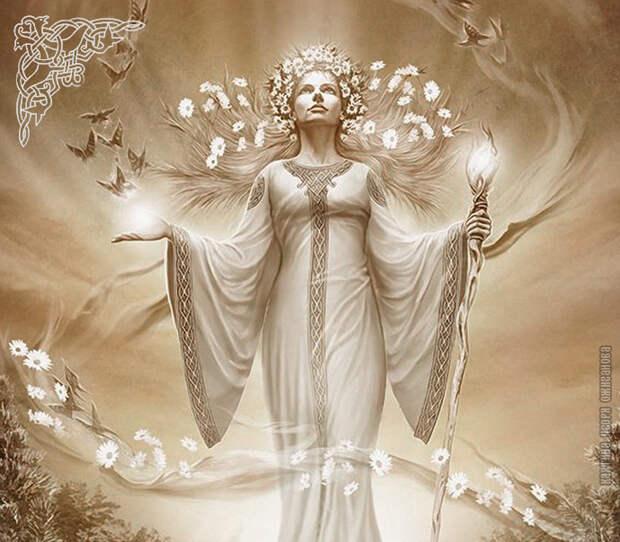 Богиня Лада о тяжелых энергиях блуда