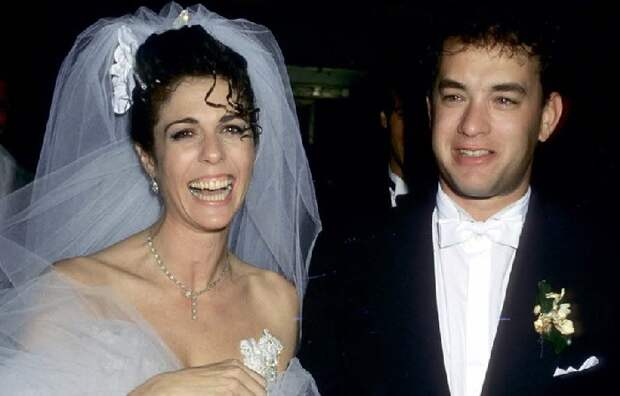 Свадьба Тома Хэнкса, Риты Уилсон.