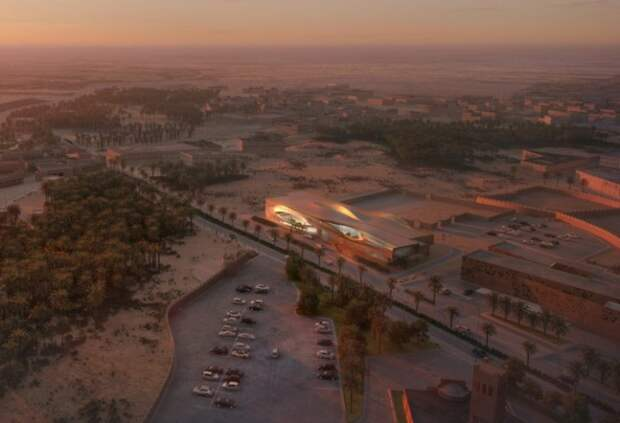 Архитекторский проект бюро Zaha Hadid Architects.