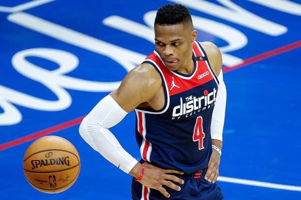 "Игрок ""Вашингтон"" Уэстбрук обновил рекорд НБА по трипл-даблам"