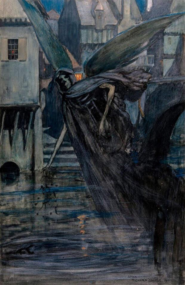 Художник, что рисует смерть: Ричард Теннант Купер иего чумные фантазии