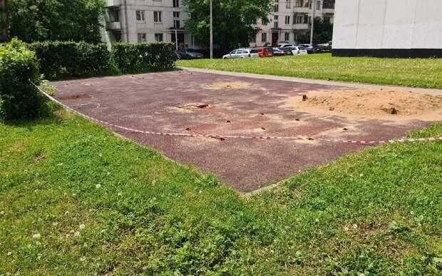 Детскую площадку на улице Маршала Тухачевского благоустроят
