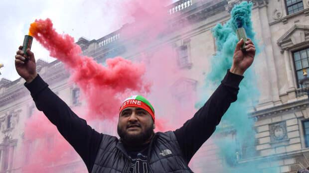 Сторонники Палестины призвали насиловать дочерей евреев в Лондоне