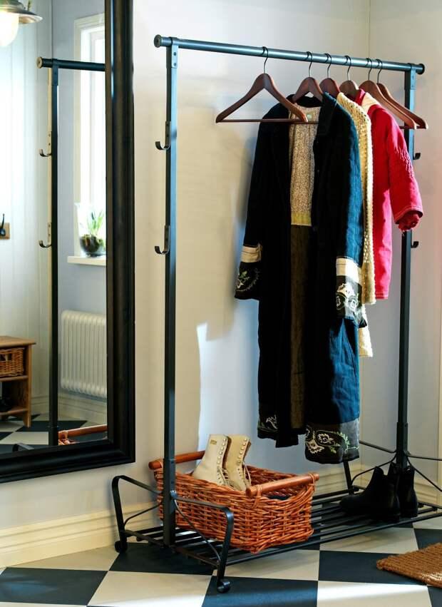 Напольная вешалка: виды и особенности конструкции (31 фото)