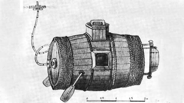 Первая русская подводная лодка