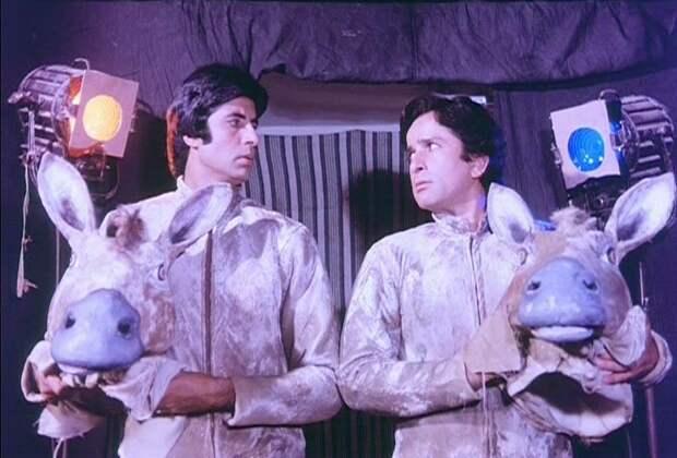 Амитабх Баччан и Шаши Капур. Дважды два - пять. Фото /  Amitabh Bachchan, Shashi Kapoor. Do Aur Do Paanch. Photo
