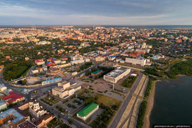 Томск с высоты — сибирский город студентов