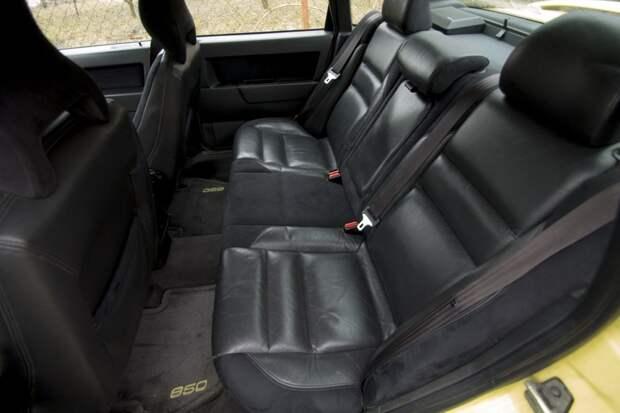 """Желтый Volvo 850 T5-R 1995 """"The Flying Banana"""""""