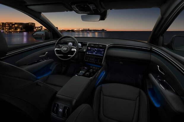 Hyundai Tucson 2021-2022 — технические характеристики и фото