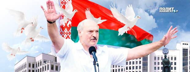 Эвакуация на бронемашинах и штурм Дворца – Лукашенко рассказал свою версию происходящего