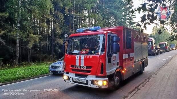 Спасатели пожарно-спасательного отряда №204 ликвидировали последствия ДТП
