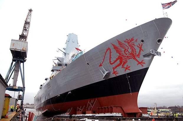 В Британии прокомментировали информацию о выдворении эсминца
