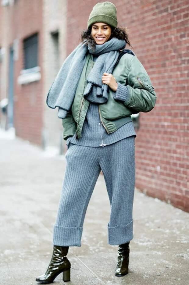 Мода на трикотажные костюмы: особенности их выбора