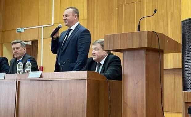 Вадим Бобырь стал новым главой Первомайского района Новосибирска