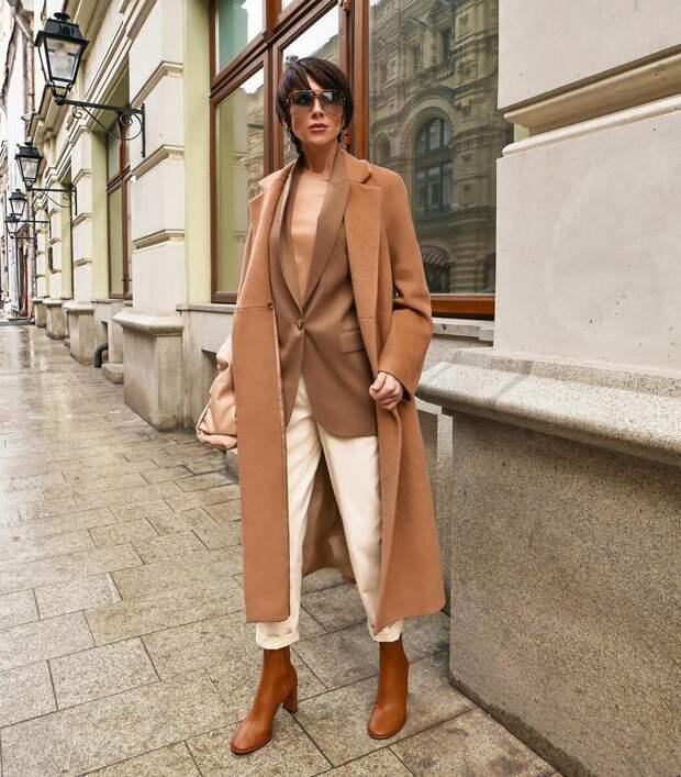 Как правильно носить бежевый цвет, чтобы всегда выглядеть дорого