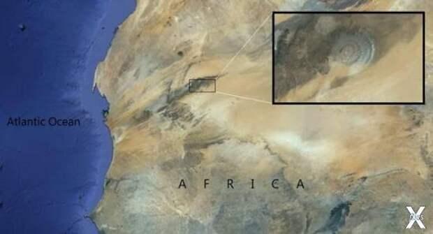 На Земле нет аналогов Ока Сахары