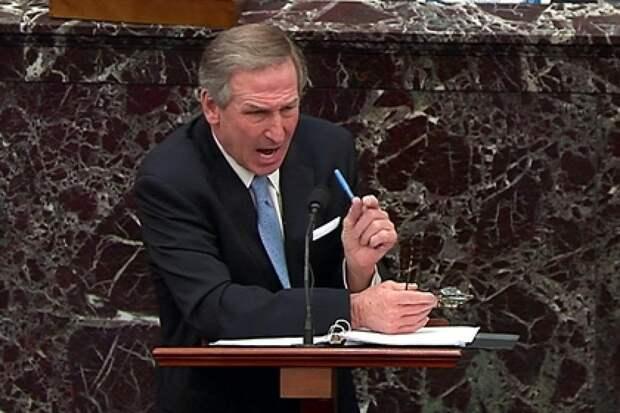 Сенаторы осмеяли адвоката Трампа на слушаниях по импичменту