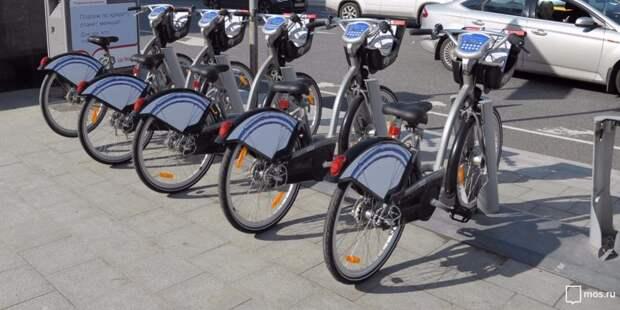 В районе Северного речного вокзала число велопарковок увеличится до пятидесяти