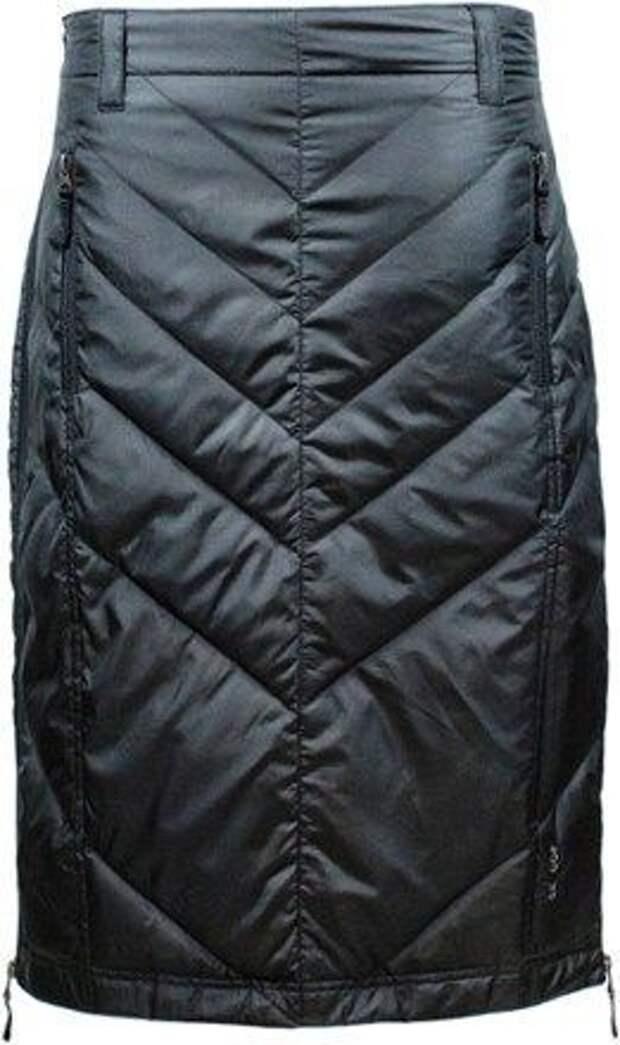 стеганная юбка зимой как сшить